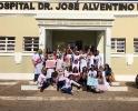 CESVASF CIDADANIA: ALUNOS DO CURSO DE PEDAGOGIA REALIZAM PROJETO EXTRACLASSE NO HOSPITAL MUNICIPAL.-7